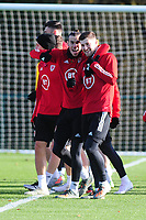 2019 11 11 Wales training session, The Vale Resort, Cardiff, Wales, UK