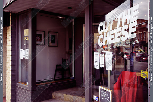 Cut the Cheese, gourmet cheese restaurant at the Junction, Toronto, Canada