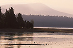 Lake Almanor near Chester in the morning