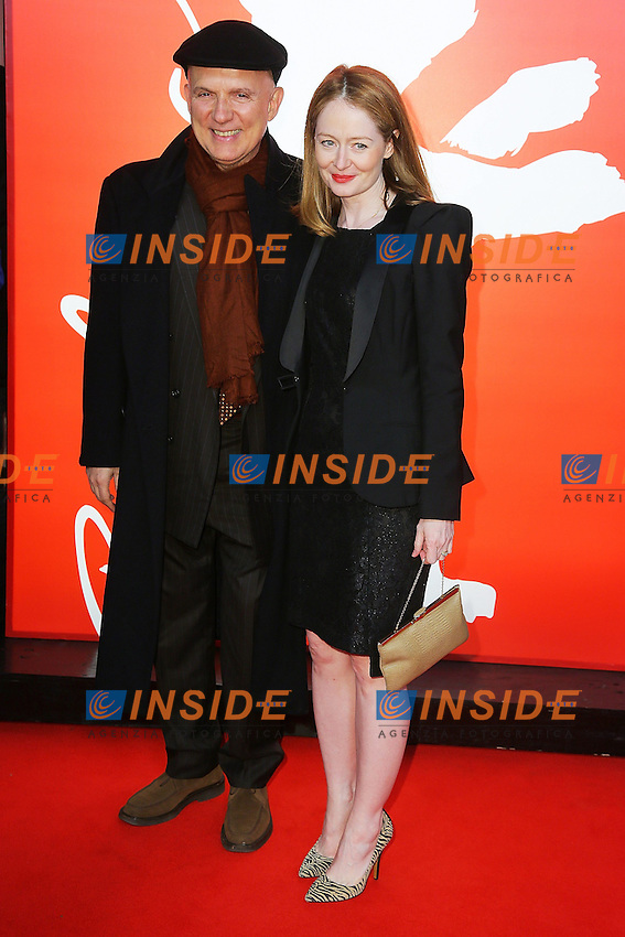 Bruno Barreto, Miranda Otto. Berlin 11/02/2013. 63th Berlinale 'Reaching for the Moon' premiere. foto Mark Cape/Insidefoto