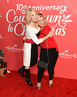 "20 November 2019 - Hollywood, California - Barbara Niven, Alison Sweeney. Hallmark Channel's 10th Anniversary Countdown to Christmas - ""Christmas Under the Stars"" Screening and Party. Photo Credit: Billy Bennight/AdMedia"