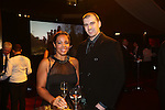 Wales Sport Awards 2013<br /> Samar Wafa & Stephen Small.<br /> 09.11.13<br /> ©Steve Pope-SPORTINGWALES