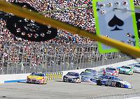Sept. 20, 2008; Dover, DE, USA; Nascar Nationwide Series driver Bryan Clauson (40) spins during the Camping World RV 200 at Dover International Speedway. Mandatory Credit: Mark J. Rebilas-