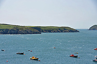 Pictured: Ramsey Island as seen from the Pembrokeshire coast.<br /> Re: A new airborne laser survey of RSPB Ramsey Island has revealed a hidden archaeological landscape thought to date back 4,500 years to the Bronze Age, changing our understanding of how this isolated Pembrokeshire island was settled while providing a powerful new management tool for the RSPB.<br /> The airborne laser survey was commissioned by archaeologists from the Royal Commission on the Ancient and Historical Monuments of Wales as part of the new European-funded Ireland-Wales CHERISH project investigating climate change and coastal heritage. The data captured during the survey has enabled the creation of a highly detailed 3D model of Ramsey Island for the first time. Not only has this led to the discovery of new archaeological sites but it also provides an accurate and precise dataset which can be used to monitor environmental changes on the island as a result of climate change. The CHERISH Project is funded through the EU&rsquo;s Ireland Wales Co-Operation Programme 2014-20.<br /> The new survey has revealed exciting sites such as Bronze Age round barrows, a prehistoric coastal promontory fort, the possible site of a lost chapel and a multitude of ancient field systems. These discoveries are forcing archaeologists to change their interpretation of how humans would have interacted with Ramsey Island during the last 4,000-5,000 years.