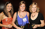 From left: Rebecca Heilman, Elizabeth Heilman and Barbara Heilman at the San Jose Clinic Art with Heart Gala at the InterContinental Hotel Saturday May 15,2010.  (Dave Rossman Photo)