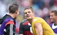 FUSSBALL WM 2014  VORRUNDE    GRUPPE G USA - Deutschland                  26.06.2014 Torwart Manuel Neuer (Deutschland)