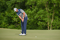 Marc Leishman (AUS) attempts an eagle putt on 7 during round 4 of the AT&T Byron Nelson, Trinity Forest Golf Club, at Dallas, Texas, USA. 5/20/2018.<br /> Picture: Golffile | Ken Murray<br /> <br /> All photo usage must carry mandatory copyright credit (© Golffile | Ken Murray)