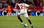 Sevilla FC's Sergio Reguilon during La Liga match. Sep 29, 2019. (ALTERPHOTOS/Manu R.B.)