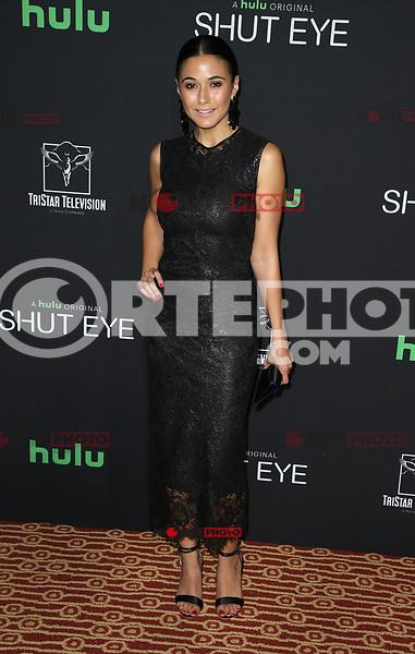 HOLLYWOOD, CA - NOVEMBER 28: Emmanuelle Chriqui, at Premiere Of Hulu's 'Shut Eye' Season 2 at The Magic Castle in Hollywood, California on November 28, 2017. Credit: Faye Sadou/MediaPunch /NortePhoto.com NORTEPOTOMEXICO