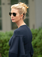 Presidential advisor Ivanka Trump arrives for a news conference with United States President Donald J. Trump and Japanese Prime Minister Shinzo Abe at the White House in Washington, DC, June 7, 2018. <br /> CAP/MPI/RS<br /> &copy;RS/MPI/Capital Pictures