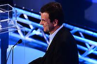 ATENCAO EDITOR: FOTO EMBARGADA PARA VEICULOS INTERNACIONAIS. - RIO DE JANEIRO, RJ, 05 DE SETEMBRO 2012 - ELEICOES 2012-DEBATE REDE TV - Eduardo Paes da Coligacao Somos um Rio no debate eleitoral com os candidatos a Prefeito do Rio de Janeiro no Clube Monte Líbano, na Gavea, na zona sul do Rio de Janeiro.(FOTO: MARCELO FONSECA / BRAZIL PHOTO PRESS).