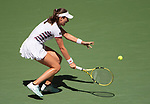 September 3,2019:   Johanna Konta (GBR) loses to Elina Svitolina (UKR) 6-4, at the US Open being played at Billie Jean King National Tennis Center in Flushing, Queens, NY.  ©Jo Becktold/CSM
