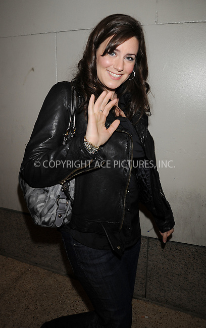 WWW.ACEPIXS.COM . . . . .  ....October 27 2009, New York City....Actress Katie Featherston from the breakthrough movie 'Paranormal Activity' made an appearance at the 'Alexa Chung' Show at the MTV Studios in Times Square on October 27 2009 in New York City....Please byline: AJ Sokalner - ACEPIXS.COM..... *** ***..Ace Pictures, Inc:  ..tel: (212) 243 8787..e-mail: info@acepixs.com..web: http://www.acepixs.com