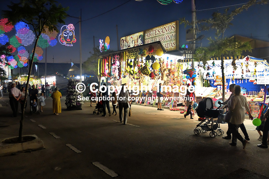 Fiesta, fairground, San Pedro de Alcantara, Marbella, Spain, 15th October 2015, 201510151749<br />