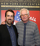"Ron Berman and Jack Viertel attends the closing Night performance reception for Encores! ""Call Me Madam"" at City Center on February 10, 2019 in New York City."