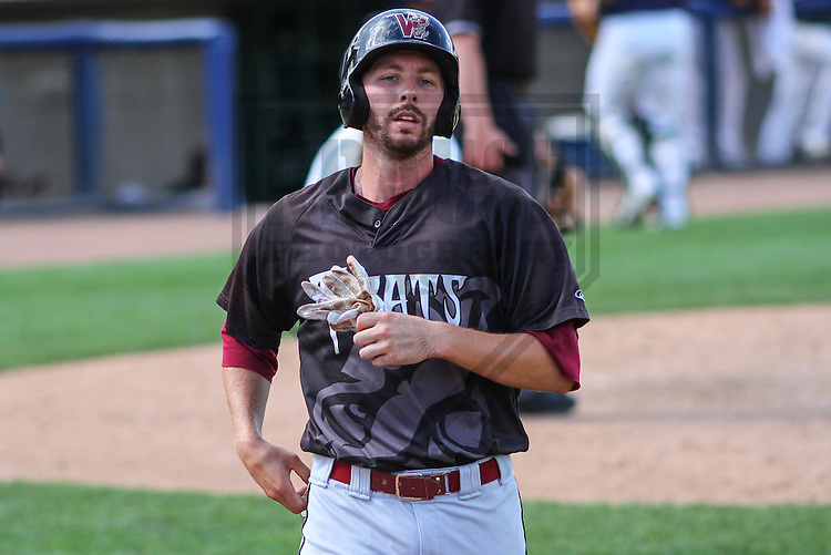 BELOIT - September 2014: Paul Eshleman (19) of the Wisconsin Timber Rattlers during a game against the Beloit Snappers on September 1st, 2014 at Pohlman Field in Beloit, Wisconsin.  (Photo Credit: Brad Krause)
