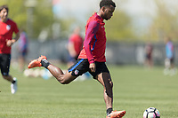 Denver, CO  - Monday May 31, 2017: The U.S. Men's National team train in preparation for their upcoming WCQ Hex games at Dick's Sporting Goods Park.