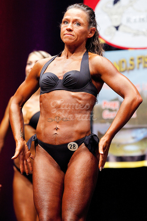 Irish female physique and figure fitness national