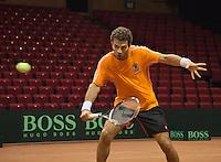09-09-13,Netherlands, Groningen,  Martini Plaza, Tennis, DavisCup Netherlands-Austria, DavisCup,   Jean-Julien Rojer (NED)<br /> Photo: Henk Koster