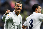 Cristiano Ronaldo of Real Madrid celebrates during the La Liga match between Real Madrid and Real Sporting de Gijon at the Santiago Bernabeu Stadium on 26 November 2016 in Madrid, Spain. Photo by Diego Gonzalez Souto / Power Sport Images