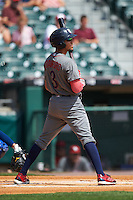 Lehigh Valley IronPigs shortstop J.P. Crawford (3) at bat during a game against the Buffalo Bisons on August 28, 2016 at Coca-Cola Field in Buffalo, New York.  Lehigh Valley defeated Buffalo 5-2.  (Mike Janes/Four Seam Images)