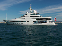 Recently launched, Pegaso is a 74 metre exploration and research motor yacht