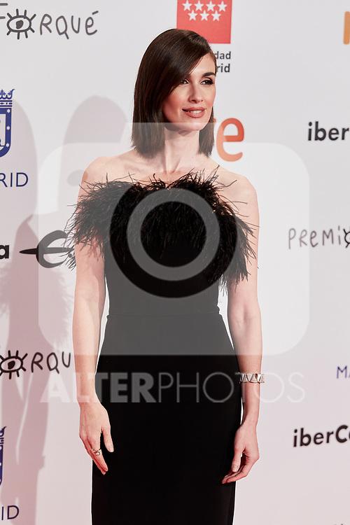 Paz Vega attends to XXV Forque Awards at Palacio Municipal de Congresos in Madrid, Spain. January 11, 2020. (ALTERPHOTOS/A. Perez Meca)