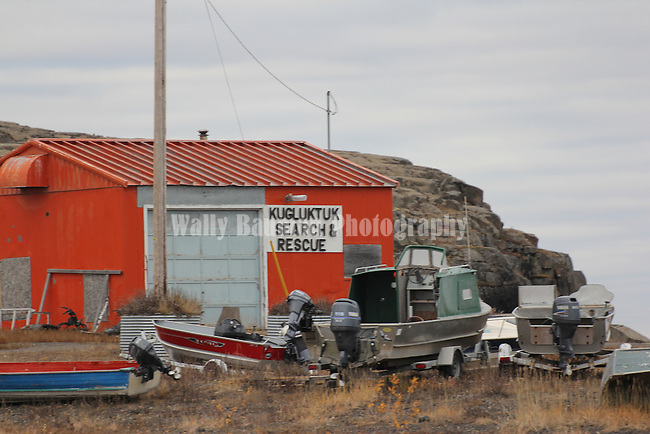 SEARCH AND RESCUE HEADQUATERS  AT KUGLUKTUK, NUNAVUT, CANADA