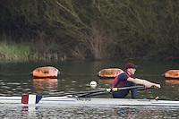 Caversham. Berkshire. UK<br /> Oliver HAYWOOD.<br /> 2016 GBRowing U23 Trials at the GBRowing Training base near Reading, Berkshire.<br /> <br /> Monday  11/04/2016 <br /> <br /> [Mandatory Credit; Peter SPURRIER/Intersport-images]