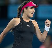 Ana Ivanovic (SRB)<br /> <br /> Tennis - Brisbane International 2015 - ATP 250 - WTA -  Queensland Tennis Centre - Brisbane - Queensland - Australia  - 7 January 2015. <br /> &copy; Tennis Photo Network