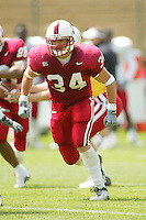Kris Bonifas during the Spring Game on April 26, 2003 at Stanford Stadium.<br />