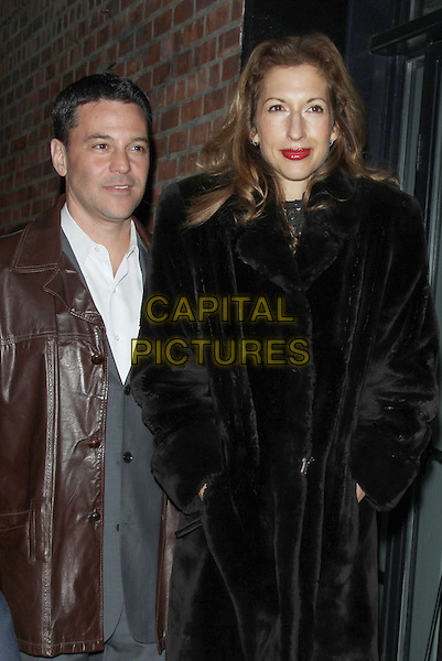 NEW YORK, NY - MARCH 17: Alysia Reiner and David Alan Basche at Sony Pictures Classics presents screening of  The Bronze  at the Metrograph in New York. <br /> CAP/MPI/RW<br /> &copy;RW/MPI/Capital Pictures