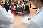 "November 11, 2016; ""Let's Have a Moment of Science,"" hosted by the College of Science and College of Engineering, invited grade schoolers from the San Antonio area for demonstrations and brief lectures showcasing Notre Dame science and STEM areas. (Photo by Matt Cashore/University of Notre Dame)"