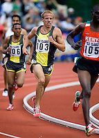 EUGENE, OR--Alan Webb competes in the mens 2 mile during the Steve Prefontaine Classic, Hayward Field, Eugene, OR. SUNDAY, JUNE 10, 2007. PHOTO © 2007 DON FERIA