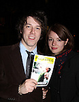 04-21-11 Jerusalem opening night - Aubrey Dollar - America Ferrera -John Gallagher, Jr. Laila Robins