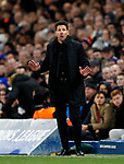 Atletico Madrid's Diego Simeone in action during the Champions League Group C match at the Stamford Bridge, London. Picture date: December 5th 2017. Picture credit should read: David Klein/Sportimage