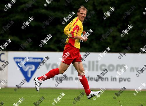 2010-08-07 / Voetbal / seizoen 2010-2011 / KSV Bornem / Kenny Laevaert..Foto: mpics