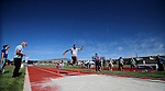 David LeMaire, of Washoe, competes in the long jump event the Special Olympics Nevada 2013 Summer Games in Reno, Nev., on Saturday, June 1, 2013. <br /> Photo by Cathleen Allison