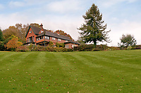 BNPS.co.uk (01202 558833)<br /> Pic: Fine&Country/BNPS<br /> <br /> 5 acres of land...<br /> <br /> Perfect corner of Ashdown forest...<br /> <br /> A beautiful country home in the heart of Ashdown Forest, the home of Winnie the Pooh, is on the market for £2.25m.<br /> <br /> End House is in a secluded spot of almost five acres in the East Sussex forest, with the nearest village about a mile away.<br /> <br /> The property has its own small stream for playing Pooh sticks and the new owner would have 'Commoner Rights' to use the 6,500-acre forest for grazing and wood cutting.<br /> <br /> Author AA Milne, who lived on the edge of Ashdown Forest, used the woodland there as the setting for his famous books about his son Christopher Robin's stuffed bear.