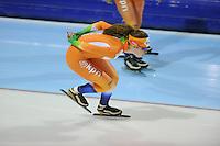 SCHAATSEN: HEERENVEEN: 24-10-2013, IJsstadion Thialf, Laatste training voor KPN NK afstanden, Antoinette de Jong, ©foto Martin de Jong