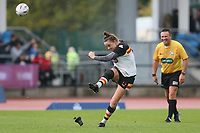 Picture by Paul Currie/SWpix.com - 07/10/2017 - Rugby League - Women's Super League Grand Final - Bradford Bulls v Featherstone Rovers - Regional Arena, Manchester, England - Claire Garner of Bradford Bulls converts a try