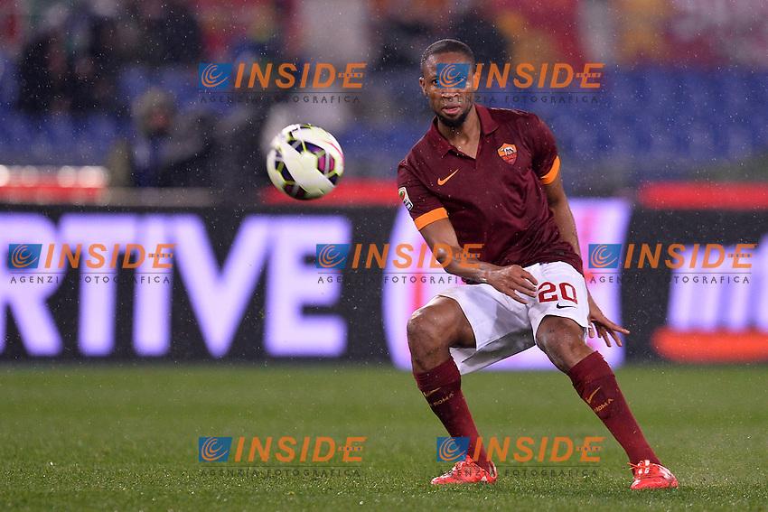 Seydou Keita Roma.<br /> Roma 16-03-2015 Stadio Olimpico. Football Calcio 2014/2015 Serie A. AS Roma - Sampdoria. Foto Antonietta Baldassarre / Insidefoto