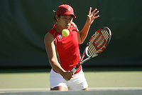 STANFORD, CA - OCTOBER 28:  Jennifer Yen during picture day on October 28, 2008 at the Taube Family Tennis Stadium in Stanford, California.