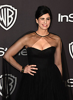 LOS ANGELES, CALIFORNIA - JANUARY 06: Sarah Silverman attends the Warner InStyle Golden Globes After Party at the Beverly Hilton Hotel on January 06, 2019 in Beverly Hills, California. <br /> CAP/MPI/IS<br /> &copy;IS/MPI/Capital Pictures