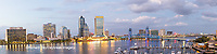63412-01015 St. Johns River and Jacksonville Florida skyline at twilight Jacksonville, FL