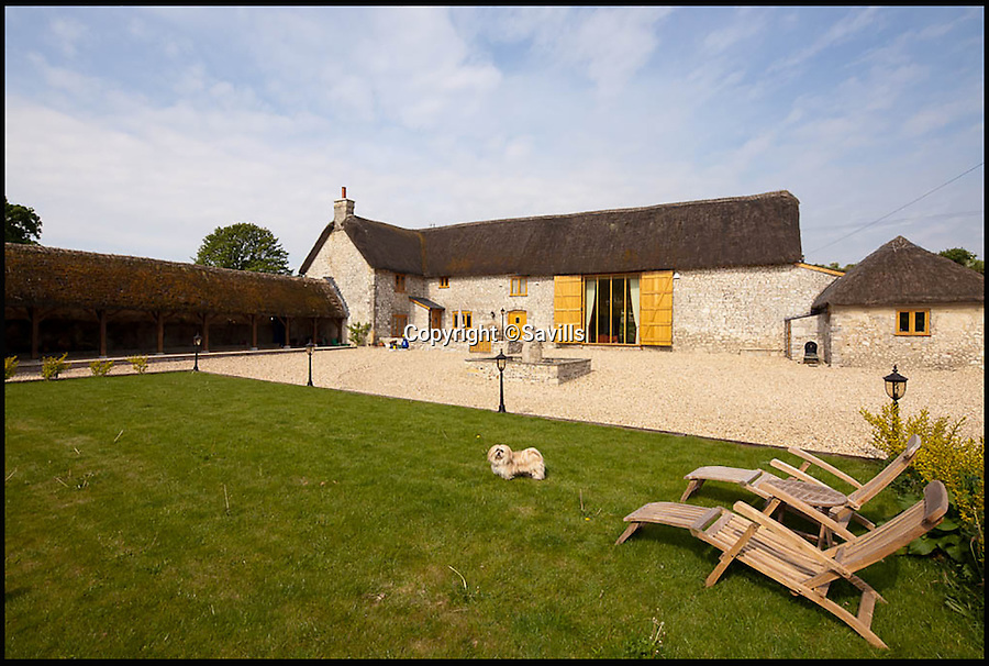 BNPS.co.uk (01202 558833)<br /> Pic: Savills/BNPS<br /> <br /> Homeowners looking to get 'Far From the Madding Crowd' can live like Bathsheba Everdene at this picturesque farm in the heart of Hardy country.<br /> <br /> Rectory Farm is a stunning property in a converted barn with stables and 51 acres of land in a quiet Dorset village.<br /> <br /> It is the perfect location for anyone looking to live out their literary dreams - situated in an Area of Outstanding Natural Beauty in Winfrith Newburgh - but you'll need £2.1 million to buy it.