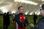 08 December 2016: Toronto's Benoit Cheyrou (FRA). Toronto FC held a training session at the Kia Training Ground in Toronto, Ontario in Canada two days before playing in MLS Cup 2016.
