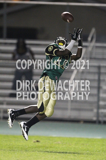 Harbor City, CA 09/24/10 - Arlandus Richardson (Narbonne #11) in action during the Mira Costa-Narbonne varsity football game at Narbonne High School in Harbor City.
