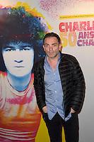 Yann MOIX - Representation Robert Charlebois au theatre Bobino - 11 avril 2016 - Paris - France