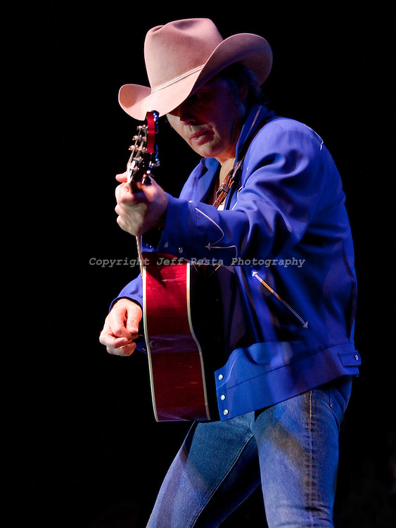 Dwight Yoakam live in concert at the Winstar Casino on April 9, 2010 in Thackerville, OK.